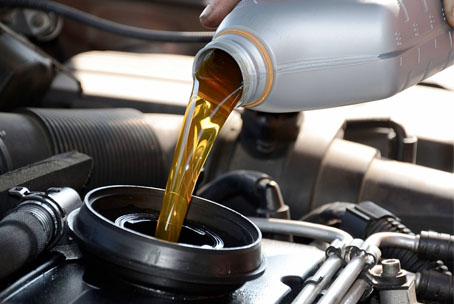 Olie bijvullen